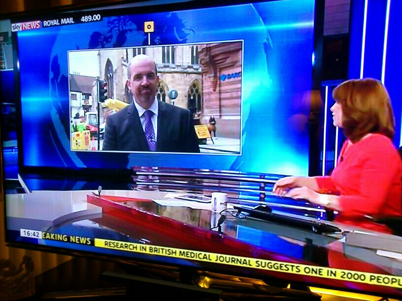 Prof Brooks on Sky News