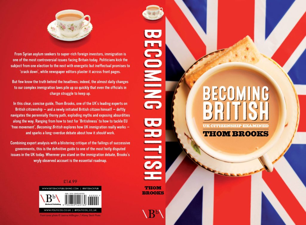 Becoming British cover